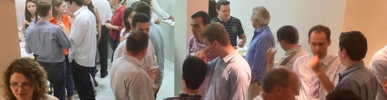 Como estabelecer contato profissional na hora do cafezinho em eventos?