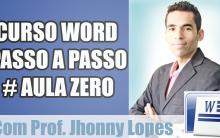 Curso de Word – Aula 0 (zero)